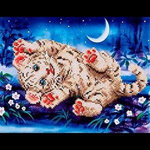 Diamond Dotz Kit - Baby Tiger Roly Poly